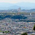 Photos: 尾張戸神社の展望台から見た景色 - 17:桃花台ニュータウン