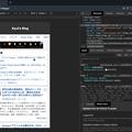 Photos: Opera 60:開発者ツールでサイトをモバイル表示