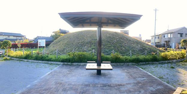 天王山古墳 - 3:パノラマ