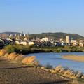 庄内川沿いから見た高蔵寺ニュータウン方面 - 2
