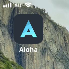 Aloha Browser 2.8.3 No - 25:ホーム画面のアイコン