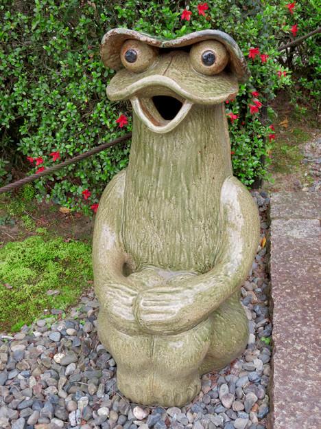 霊鷲院  - 6:ユニークで可愛らしい…カエル?河童??
