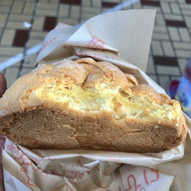 大須商店街のメロンパンのお店「はぴぱん」の「プレミアムメロンパン」 - 3
