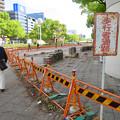 Photos: 改装工事中の旧・栄バスターミナル跡地 - 1:歩道