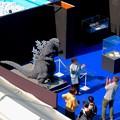 Photos: オアシス21で開催中の「ゴジラ・ウィーク・ナゴヤ」 - 2:上から見下ろした会場内(記念写真コーナー)