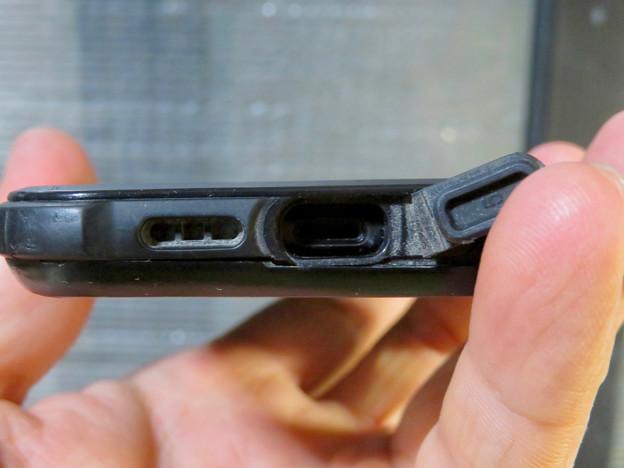 KYOKAのiPhone 7&8用の格安防水・耐衝撃ケース No - 36:Lightningコネクタ部