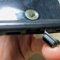 Photos: KYOKAのiPhone 7&8用の格安防水・耐衝撃ケース No - 38:Lightningコネクタ部