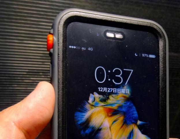 Catalyst Case for iPhone 6s No - 22:マナーモード切り替えスイッチ