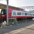 名鉄新鵜沼駅 - 12:間近で見られた車両
