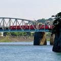 木曽川沿いから見た犬山橋 - 1
