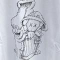 Photos: この柄は良いなと思ったユニクロのセサミストリートTシャツ - 2