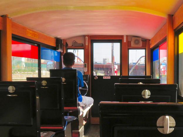 クルーズ名古屋(2019年5月)No - 9:船内から見た運河橋