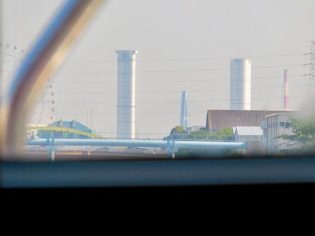 クルーズ名古屋(2019年5月)No - 50:遠くに見えた新名古屋火力発電所の塔