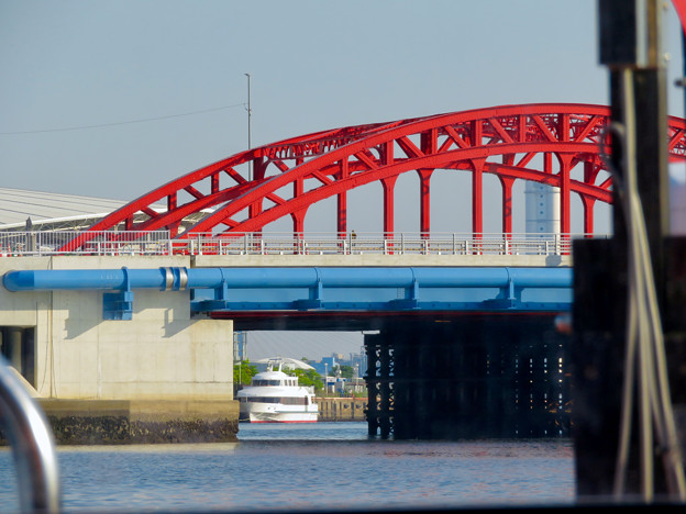 クルーズ名古屋(2019年5月)No - 133:船内から見た中川橋
