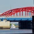 Photos: クルーズ名古屋(2019年5月)No - 133:船内から見た中川橋