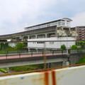 Photos: 走行中の高速バス車内から見た旧・桃花台東駅