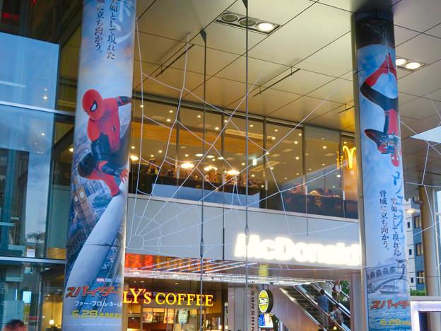 サンシャイン栄:スパイダーマンコラボのデコレーション - 2