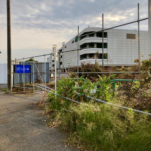 解体工事が始まっていた旧ザ・モール春日井の建物(2019年6月18日) - 4