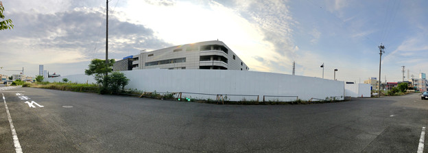 解体工事が始まっていた旧ザ・モール春日井の建物(2019年6月18日) - 8