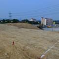 桃花台線の桃花台中央公園南側撤去工事(2019年6月20日):かなりの土砂で整地 - 1