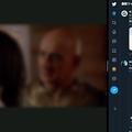 Photos: 新しいモバイルTwitterのUI - 2:幅を狭めるとTweetDeck風