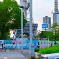 Photos: リニューアル工事中の久屋大通公園(2019年7月7日) - 6