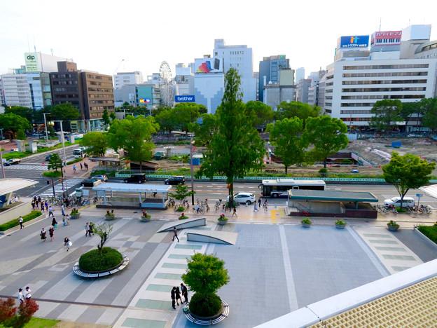 リニューアル工事中の久屋大通公園(2019年7月7日) - 9