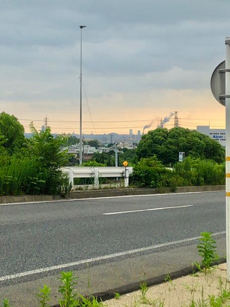 国道19号沿いから見えたナゴヤドーム - 1
