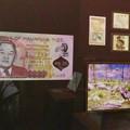 Photos: 名古屋市科学館「絶滅動物研究所」展 No - 23:モーリシャスの貨幣や切手に描かれたドードー