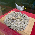 Photos: 名古屋市科学館「絶滅動物研究所」展 No - 113:コアジサイのデコイと巣のモデル