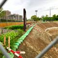 Photos: 桃花台線の桃花台中央公園南側撤去工事(2019年7月13日) - 7