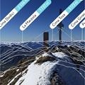 Photos: iPhoneアプリ「PeakVisor」No - 7:有名な山頂から見た景色をVR表示