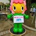 Photos: 名古屋市みどりの協会のキャラ「フララちゃん」