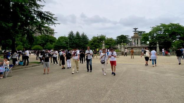 Photos: 鶴舞公園納涼まつり 2019 No - 3:祭りよりポケモンGoの人たちがいっぱい!?