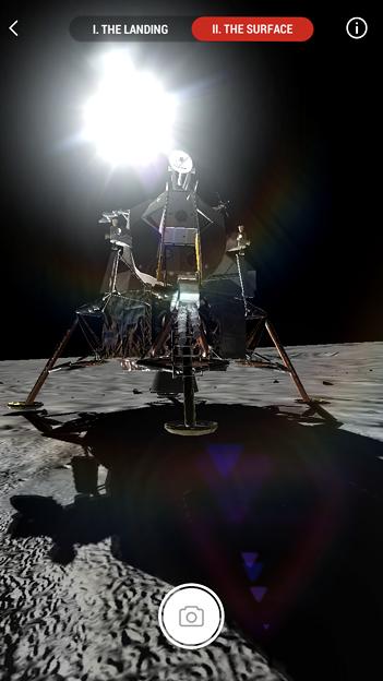 月面着陸をAR&VRで体験できるアプリ「TIME Immersive」- 5