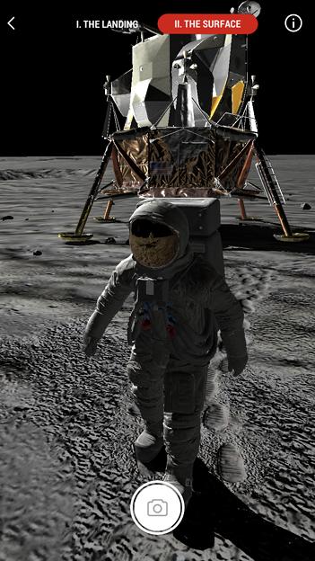 月面着陸をAR&VRで体験できるアプリ「TIME Immersive」- 7