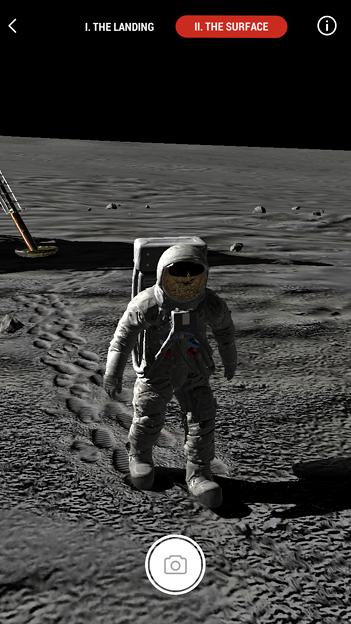 月面着陸をAR&VRで体験できるアプリ「TIME Immersive」- 8