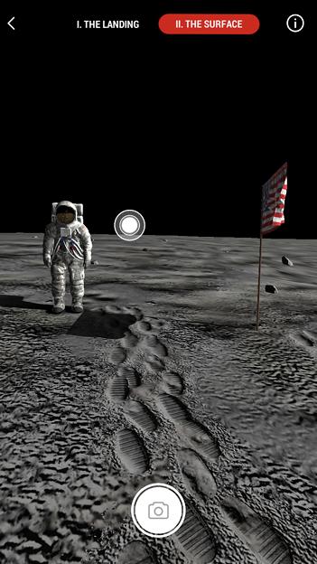 月面着陸をAR&VRで体験できるアプリ「TIME Immersive」- 10