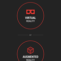 Photos: 月面着陸をAR&VRで体験できるアプリ「TIME Immersive」- 12:VRとARの選択画面