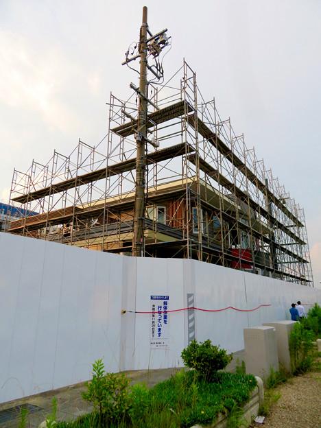 解体工事中の旧・ザ・モール春日井(2019年7月28日) - 16:マクドナルドも撤去開始