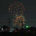 Photos: 大池緑地公園から見た春日井市民納涼まつりの花火 - 3