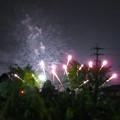 大池緑地公園から見た春日井市民納涼まつりの花火 - 17