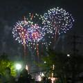 大池緑地公園から見た春日井市民納涼まつりの花火 - 19