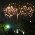 大池緑地公園から見た春日井市民納涼まつりの花火 - 20