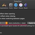 Photos: TinkerTool 7.0:MojaveのLaunchPadのアイコン表示数が変更可能! - 2