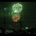 大池緑地公園から見た春日井市民納涼まつりの花火 - 22