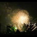 大池緑地公園から見た春日井市民納涼まつりの花火 - 33