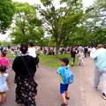 大勢の人で賑わう春日井市民納涼まつり(2019)の日の落合公園 - 38
