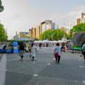 Photos: 久屋大通公園:閑散としてたブラジル関係?のイベント - 1