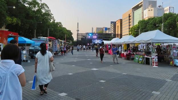 久屋大通公園:閑散としてたブラジル関係?のイベント - 2